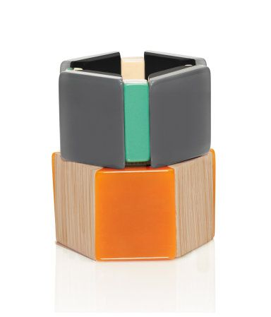 Love these chunky bracelets. Part of Marni for H&M