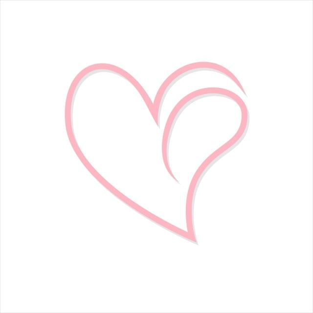 Simple Pink Heart Vector Heart Clipart Heart Icons Pinkicons Png And Vector With Transparent Background For Free Download Pink Heart Heart Icons Heart Vector Free