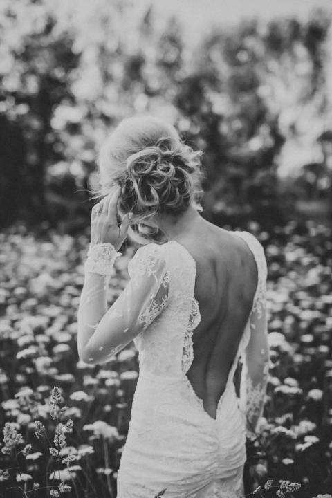 Love the ruching across the low back of this dress. Add this to the rose dress and I have designed my dream!