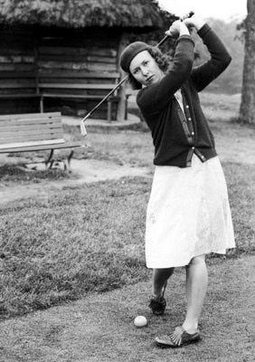Betty Jameson was a pioneer in women's professional golf, and the first women to break 300 in a 72-hole tournament. #womensgolf