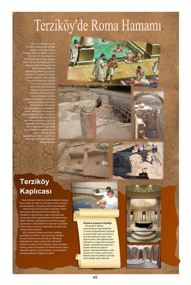 Amasya Roma Dönemi Terziköy Kaplıcası