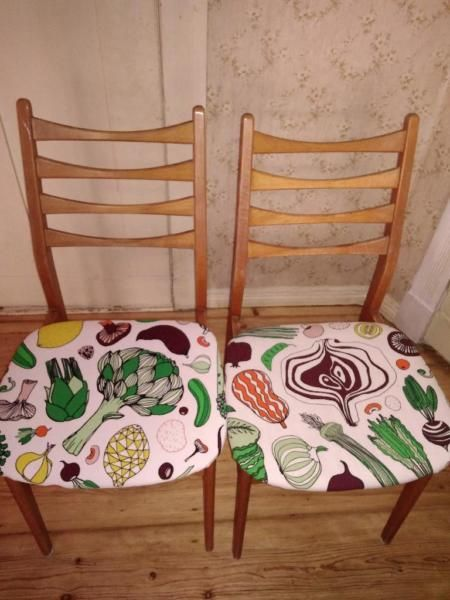 Perfect  uac for chairs can easily reupholster Wir ziehen demn chst in