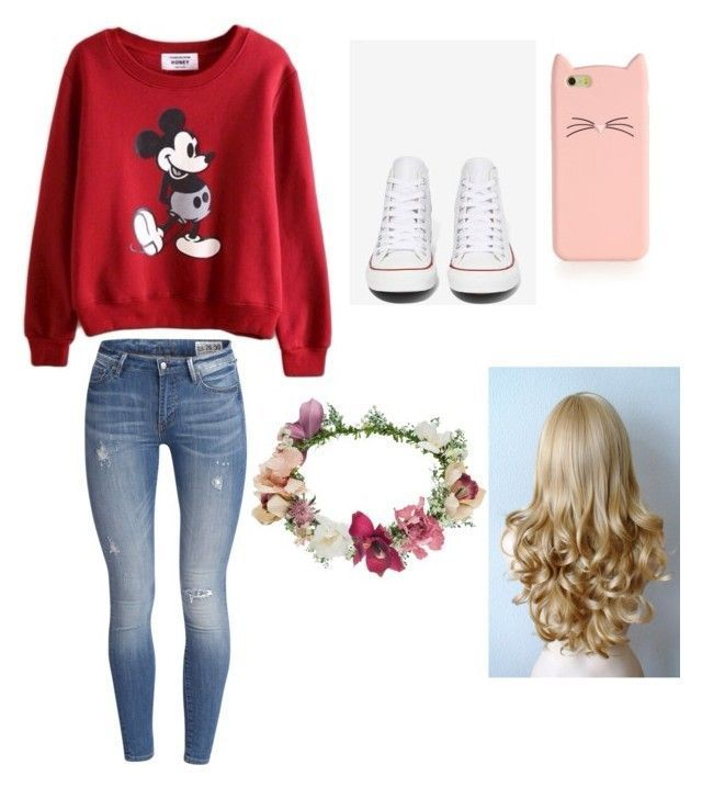 Mickey Mouse outfit...