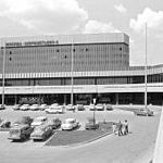 Sheremetyevo International Airport, Moscow, Russia.  When I came through, it was the USSR.  I mostly remember lines: customs, immigration and Intourist.