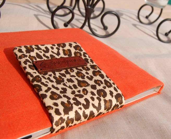 Orange/Leopard iPad Sleeve - Gorgeous iPad Cases
