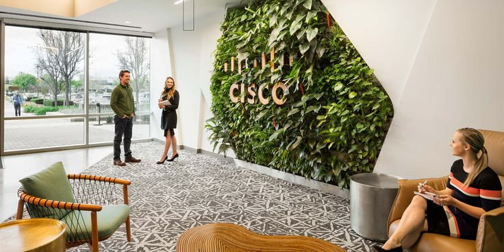 Image result for living wall office