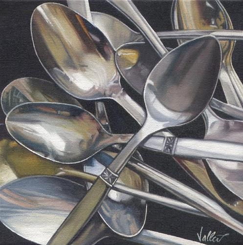 """Spoons"" - Original Fine Art for Sale - © Kimberly Vallee"