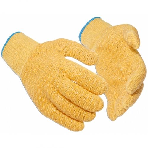 Criss Cross latex coated grip glove