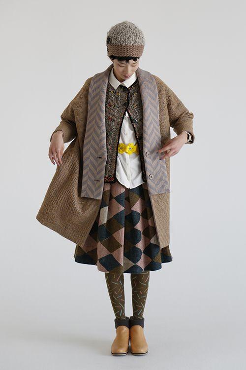 ミナ ペルホネン(minä perhonen) 2014-15年秋冬コレクション Gallery20