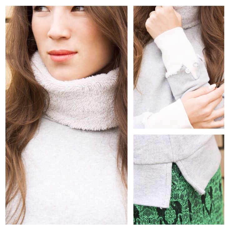 A comfy turtle neck sweat parker! ckkn x roial 2014-2015 collaboration.  http://ckkn.jp/ckkn-x-roial-2014-2015-fw-2/