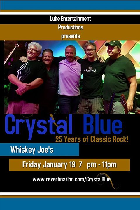 This week at Whiskey Joes brings some great live music from Luke Entertainment & Whiskey Joe's Beach Bar!  Wed Jan 17 - Parrot Head Party with John Frinzi 6P-10P Thur Jan 18 - D's Guys Duo 6P-10P Fri Jan 19 - Crystal Blue 7P-11P Sat Jan 20 - Alex Lopez Express 7P-11P Sun Jan 21 - Deja 5P-9P  DJ's will be play Friday & Saturday 2P-6P and on Sunday we have DJ Xplicid 11A-4P  DON'T FORGET THE BEST QUEEN TRIBUTE IN THE COUNTRY AT THE JOE March 4, 2018!! 8:30PM On the HUGE CONCERT Stage on the…