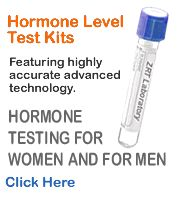 Take the Hormone Balance Test - you can test your hormones, has a quiz for symptoms and a place to order a saliva test.