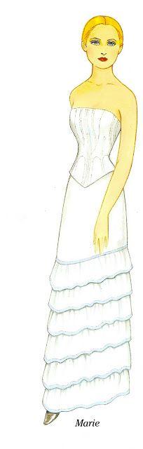 Godey's Fashions 1860-1879 - Marie   Gabi's Paper Dolls