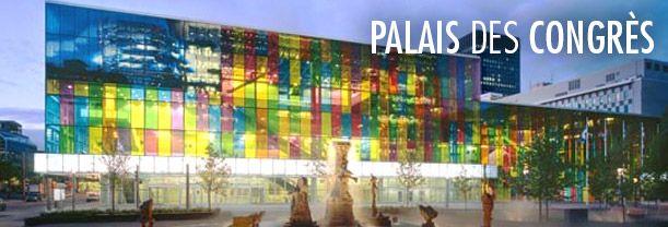 Plan Palais des Congrès de Montréal
