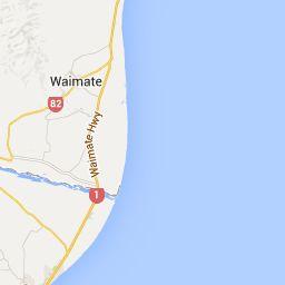 Waimate to Moeraki, New Zealand - Google Maps