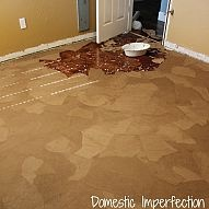 If you are in need of new flooring but don't have much money to spend… :: Hometalk
