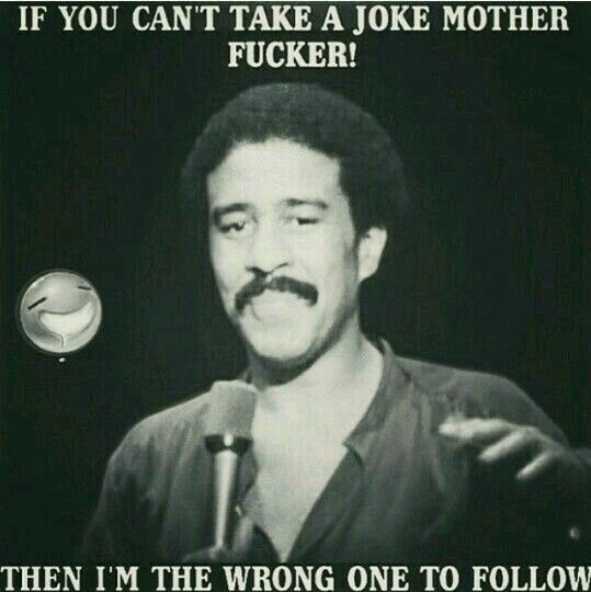 I find humor in crude things if that's a problem buh bye