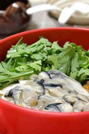 土鍋・鍋料理☆牡蠣鍋