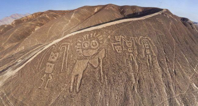 The seldom seen Palpa geoglyphs Paracas-Peru