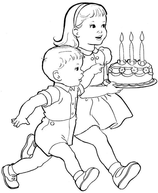 Imagenes Ninos Para Colorear Pdf Dibujos Bonitos Dibujos Y