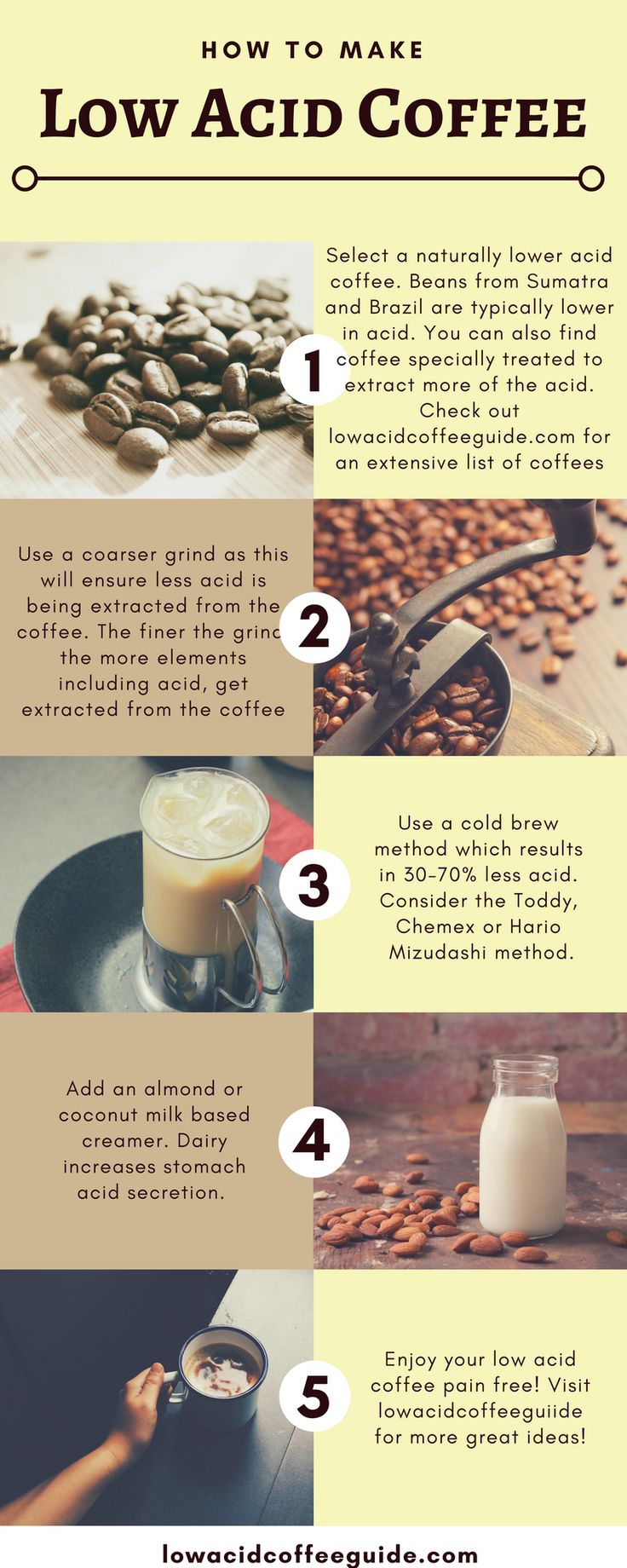 How To Make Low Acid Coffee – Low Acid Coffee Guide