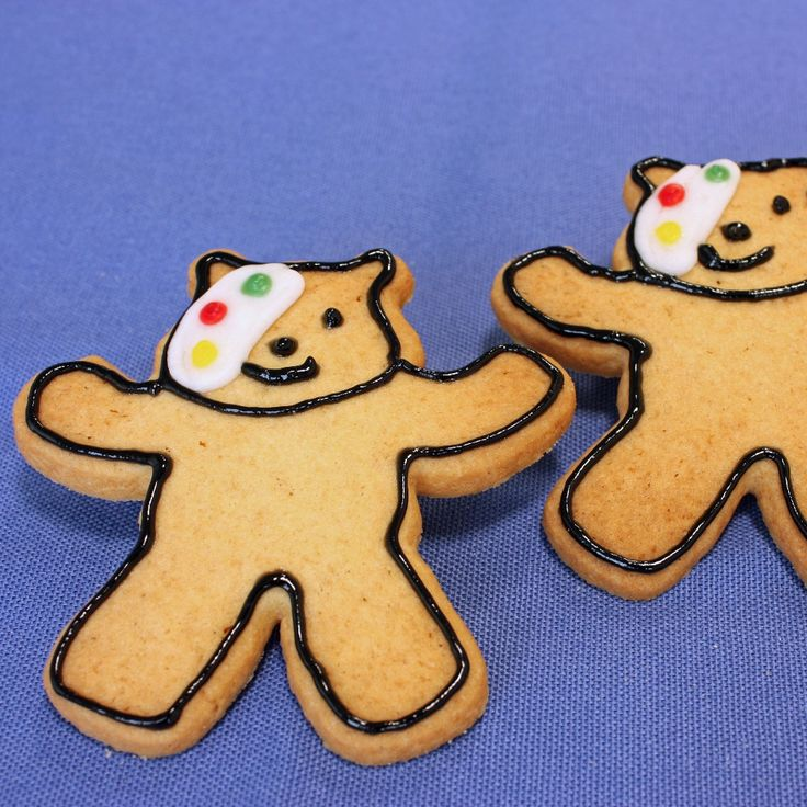 The sweetest little Pudsey Bear Cookies Recipe that would put a smile on every child's face this Children in Need day.