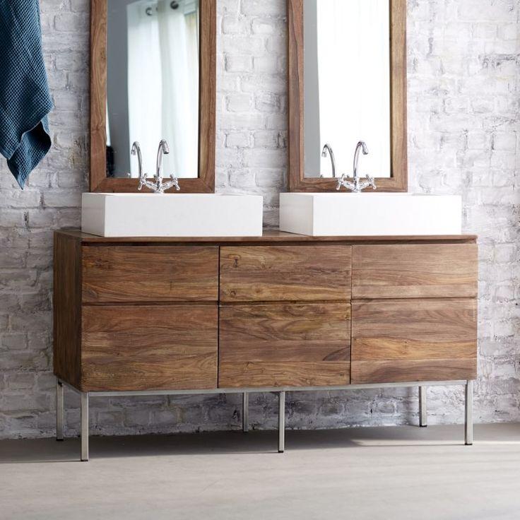 Les 25 meilleures id es de la cat gorie meuble double for Voir salle de bain moderne