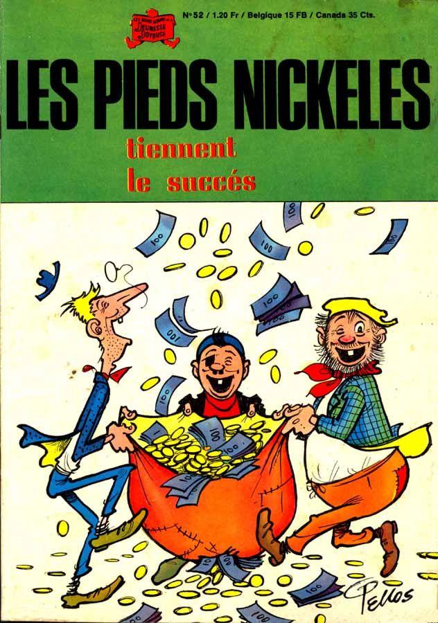 Les Pieds Nickelés, une de mes BD préférées.  crée par Louis Forton. Filochard, Ribouldingue et Croquignol, trois petits filous, à la fois anarchistes, escrocs, hâbleurs et indolents. Avec la Première Guerre mondiale, la personnalité des Pieds nickelés prend encore un nouveau tour. Ils incarneront désormais les valeurs populaires françaises d'ingéniosité et de débrouillardise connues sous le nom de « système D ».  BD publiée pour la première fois en 1908 dans la revue L'Épatant. Clic 2X…