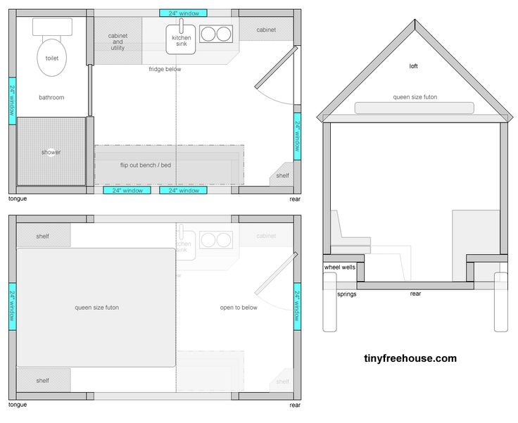 Amazing 1000 Images About Tiny House Floor Plans On Pinterest House Largest Home Design Picture Inspirations Pitcheantrous