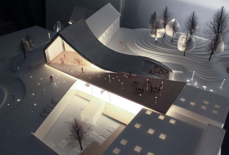 WE Architecture | Mariehøj culturcenter Holte, Denmark | 1 prize in competition