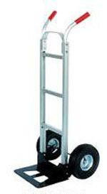 Hand Truck Dolly, New & Used Dollies - Material Handling Equipment Product Information - Steel Dual Handle Hand Truck Dollies w/Steel Nose Plate