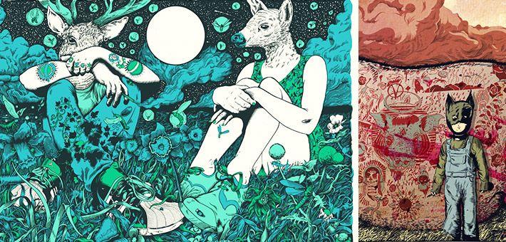 Οι πολύχρωμες εικονογραφήσεις του Tim McDonagh. Illustrations