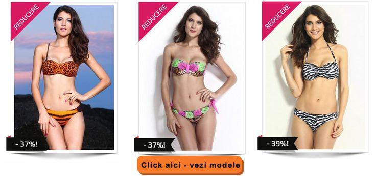 Costume de baie cu animal print si imprimeuri florale - BuzzMag