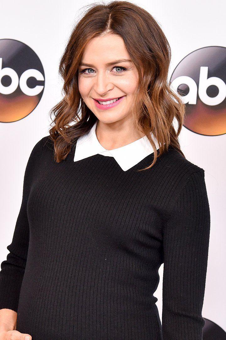 Pin for Later: Grey's Anatomy Star Caterina Scorsone ist schwanger!