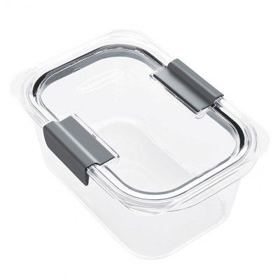 Rubbermaid Food Storage Container Clear