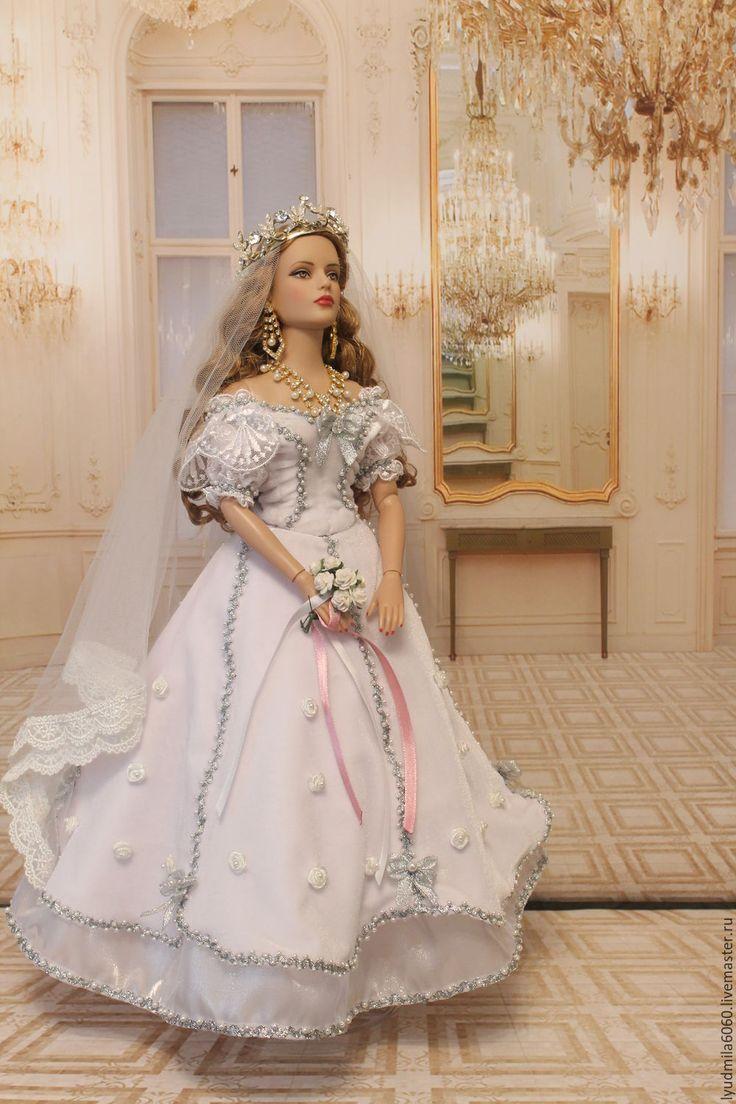 Купить Свадебный наряд для куклы Tonner - свадебное платье, букет невесты, кукла интерьерная