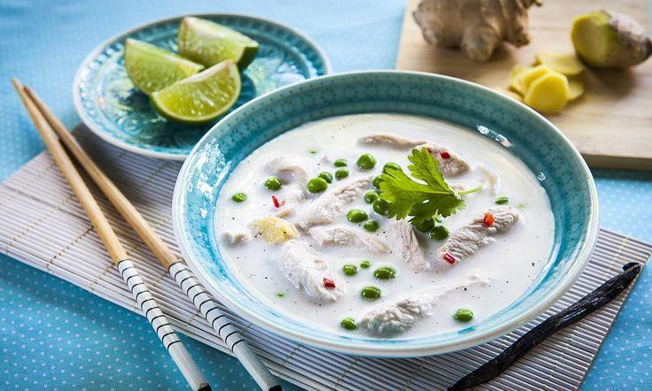 Zupa tajska - przepis | Dr. Oetker