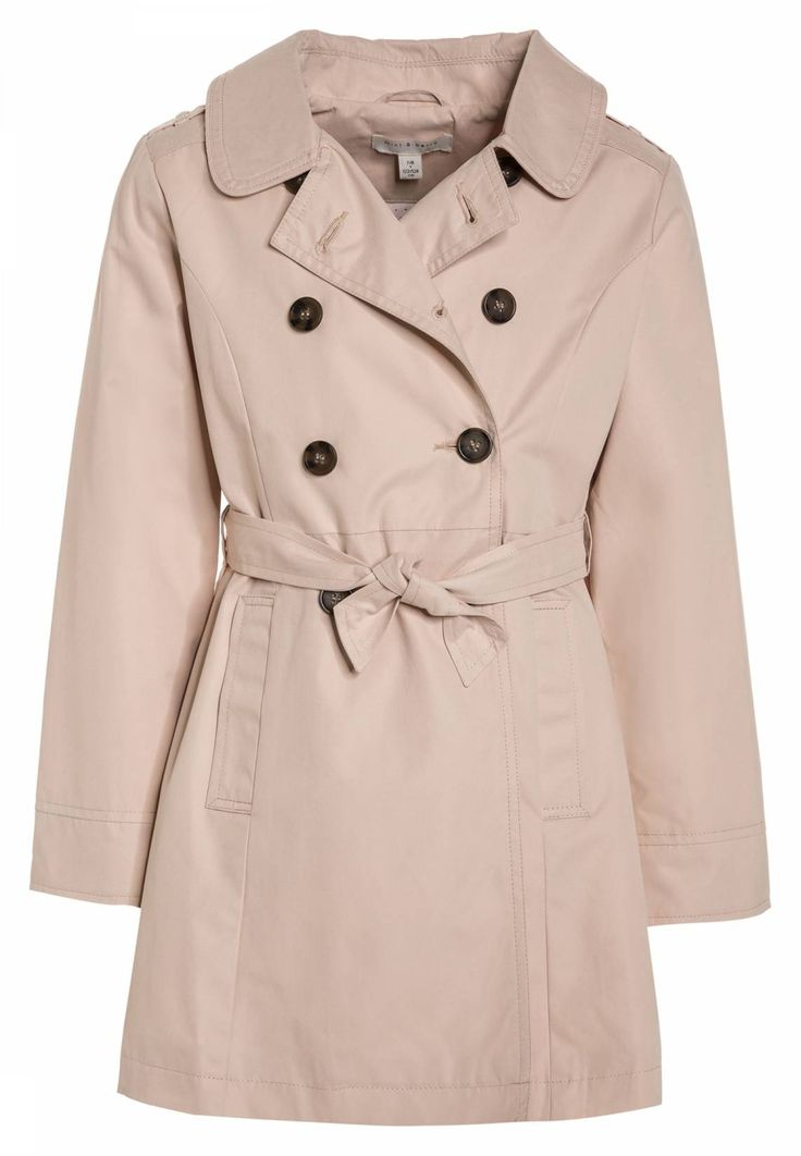 mint&berry girls. Trenchcoat - cream tan. Fit:tailored. Outer fabric  material: