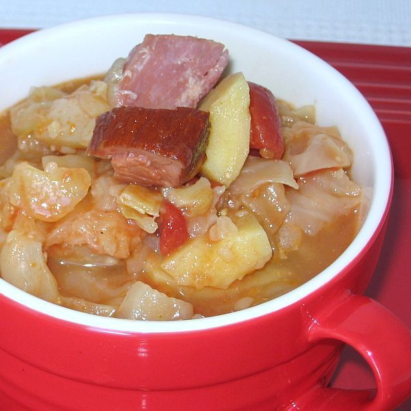 Sweet-and-Sour Cabbage Soup Recipe - Hungarian Cukros Ecetes Kaposztaleves