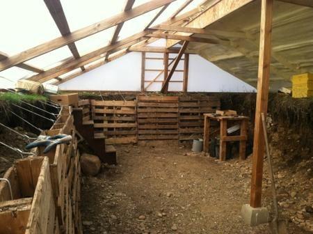 C mo construir un invernadero bajo tierra para tener - Casas bajo tierra ...