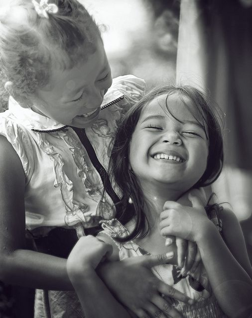 As pure as children laughing
