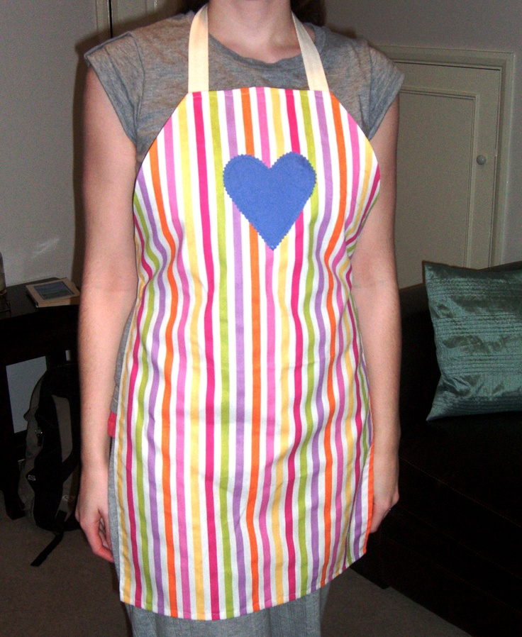 turned into an apron! (actually won me a prize in a magazine!) lol!:)
