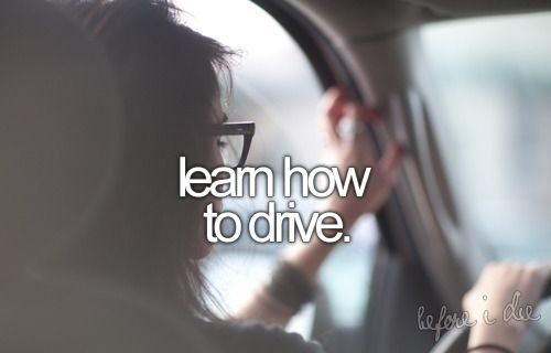 learn how to drive