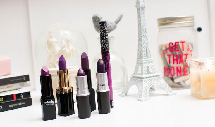 Top 6 batons roxos que são puro amor - E aí, Beleza?