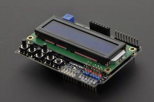 LCD KeyPad Shield для Arduino SKU: DFR0009 - Электронная витрина и учебное пособие DFRobot: Arduino и Robot Wiki-DFRobot.com