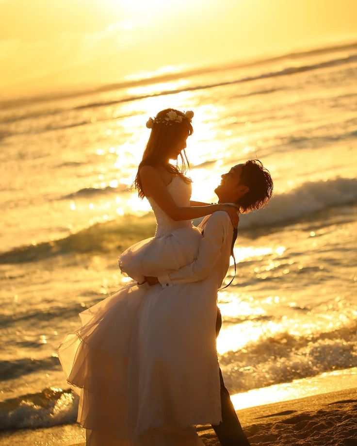 ウエディングフォトで真似したいロマンティックなポーズまとめ   marry[マリー]