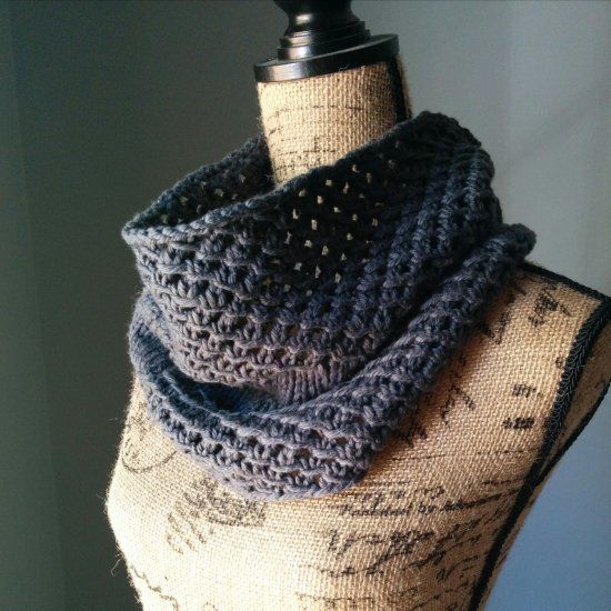 Knitting Cowls In The Round : Get in the knitting season and knit yourself this awesome