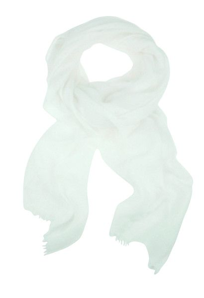 Solid Colour Scarf - White $44.95 #leethal #accessories #fashion