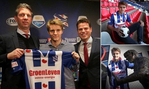 Martin Ødegaard - SC Heerenveen on loan from Real Madrid