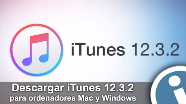 Apple actualizado reproductor de multimedia #iTunes 12.3.2. Enlaces para #descargar #update con mejoras para el servicio de streaming #Apple Music.